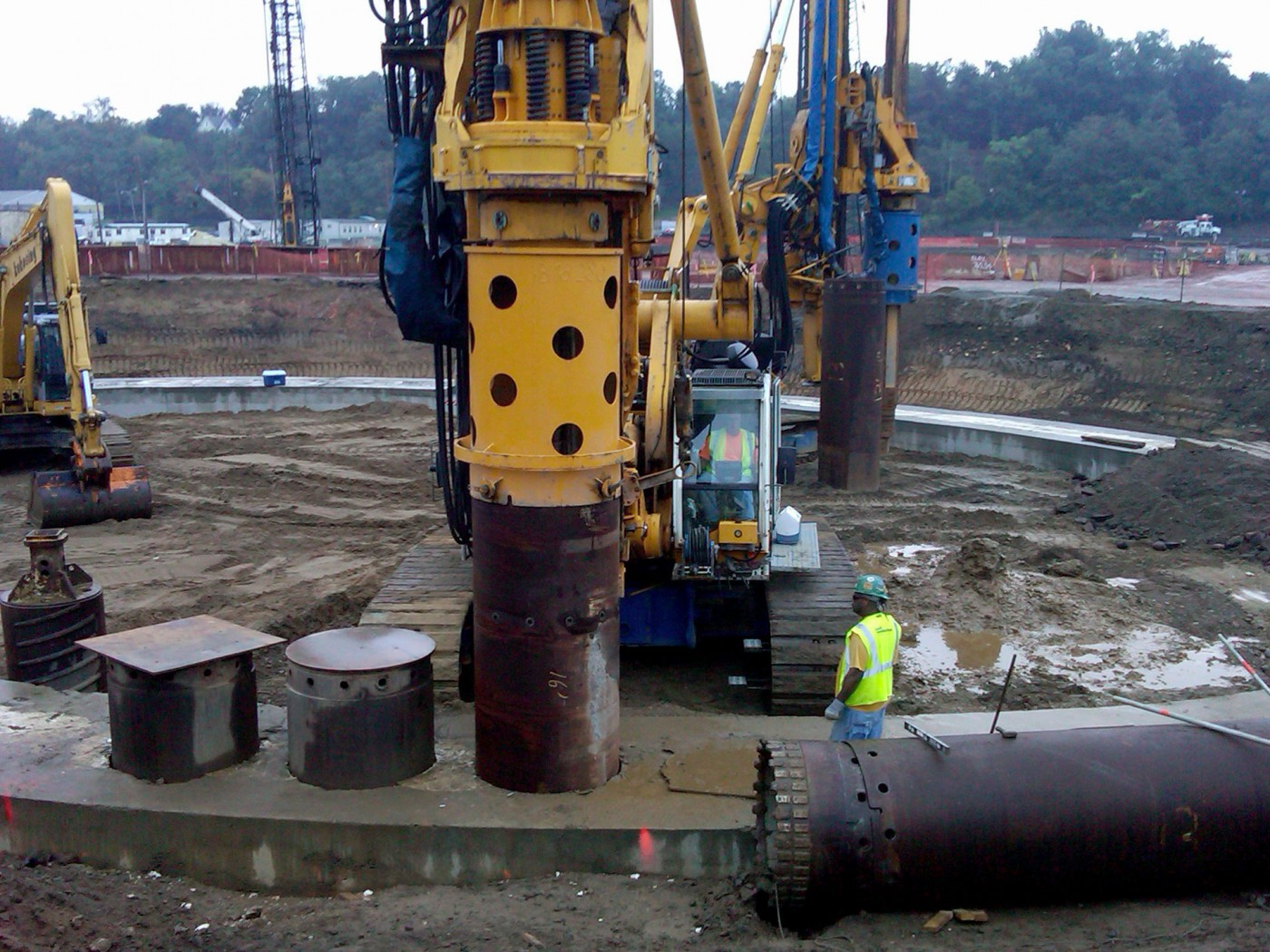 ATI Hot-Rolling and Processing Facility secant piles