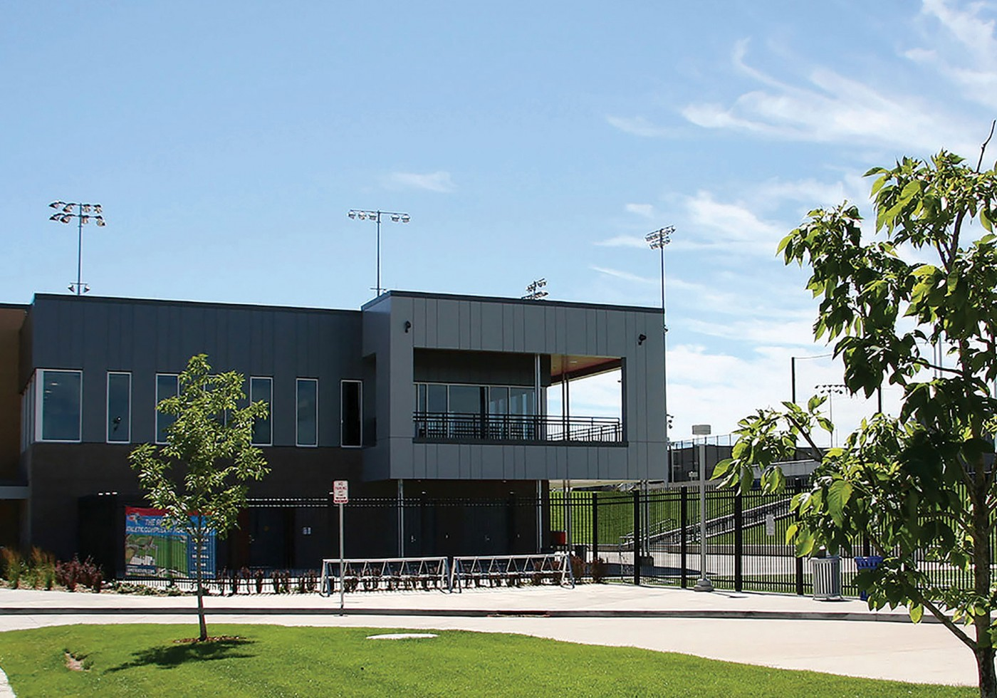 MSU Regency Athletic Complex completed campus