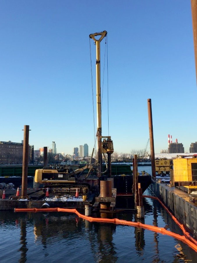 Astoria Ferry Landing drilled shafts