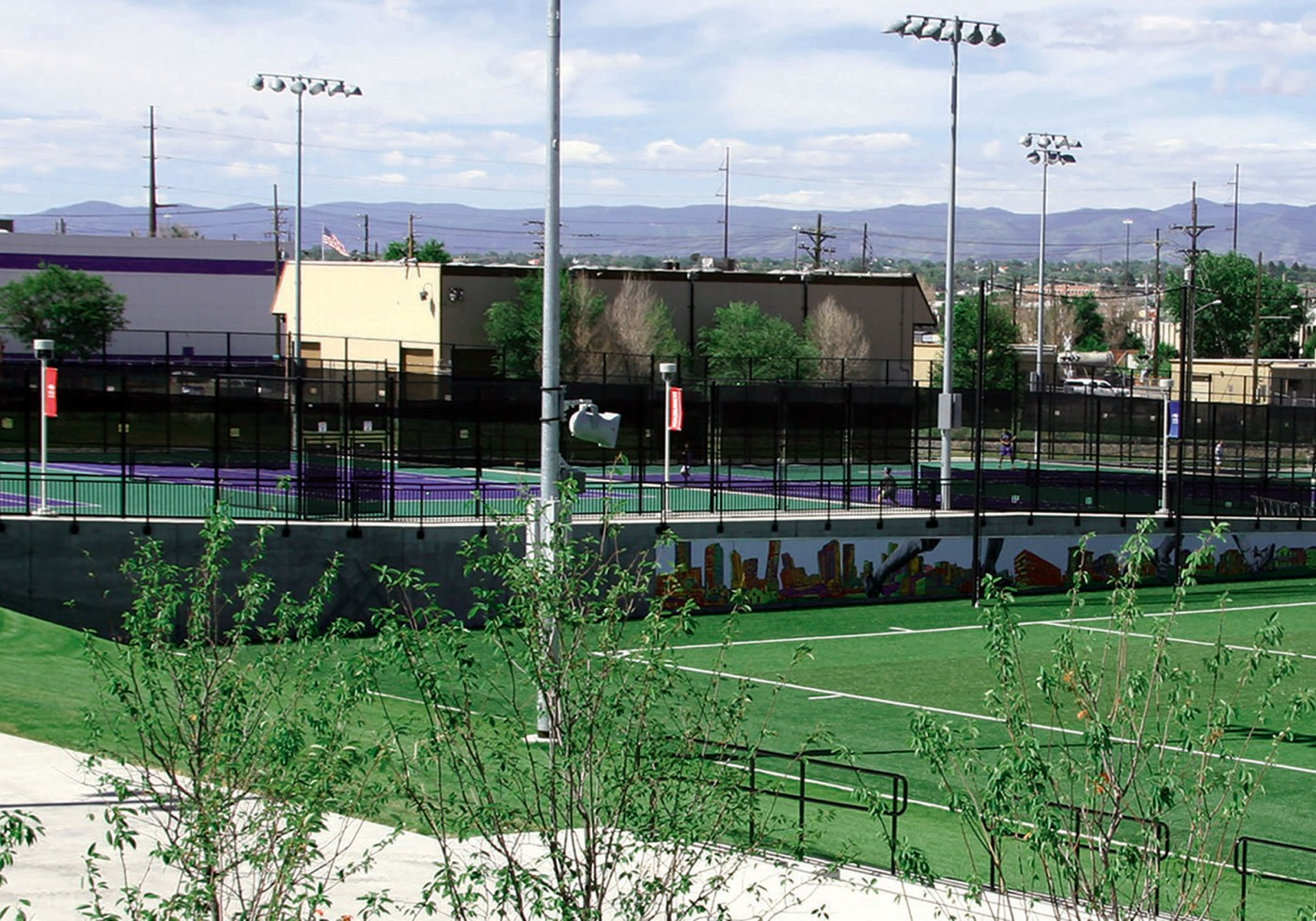 MSU Regency Athletic Complex completed tennis courts