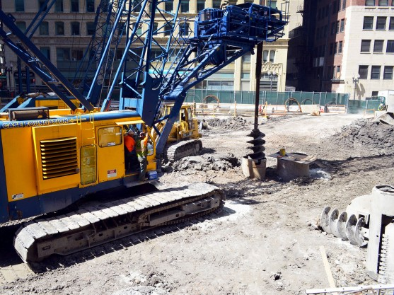 200 North Michigan Avenue drilled shafts