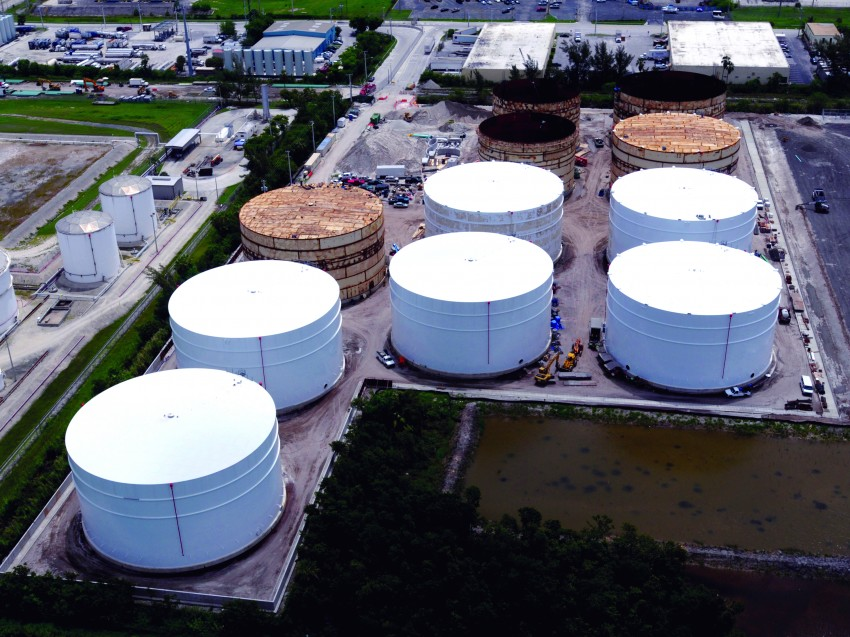 Port Everglades Fuel Storage Tanks