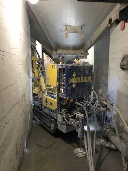Jet grouting in tight access for Great Western Malting